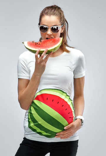 Watermelon Maternity T Shirt