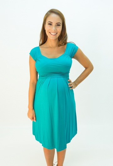 Lola Mae Maternity and Nursing Dress