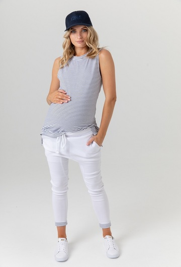 Sicily Thin Stripe Nursing Tank