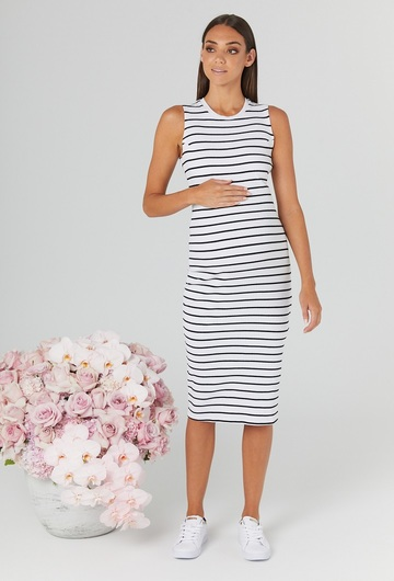 Bonsoir Maternity Dress- Last piece UK 14