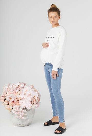 Saturday Denim Maternity Jeggings