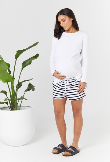 Beach Maternity Shorties