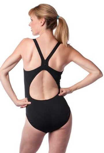 Harmony Maternity Swimsuit Black