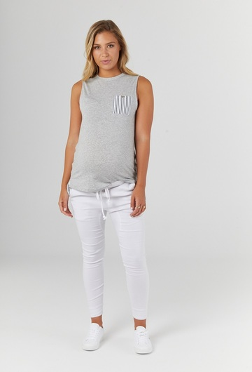 Monarch Tank - Grey