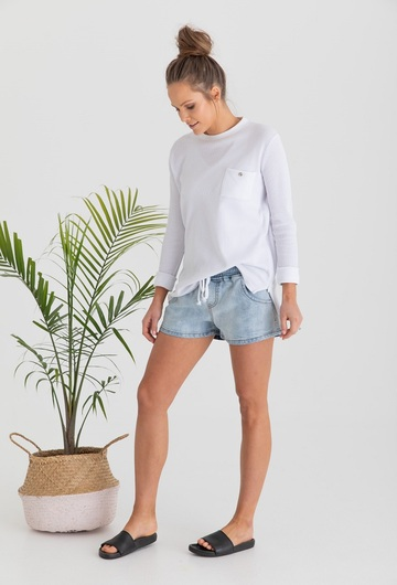Denim Saltwash Shorts