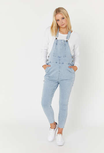 Denim Dungarees Ice Denim