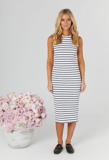 Bonsoir Ribbed Dress