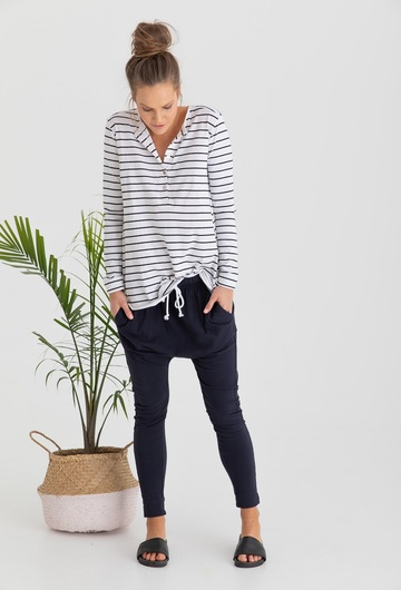 Hendrix Organic Cotton Tee (Stripe)