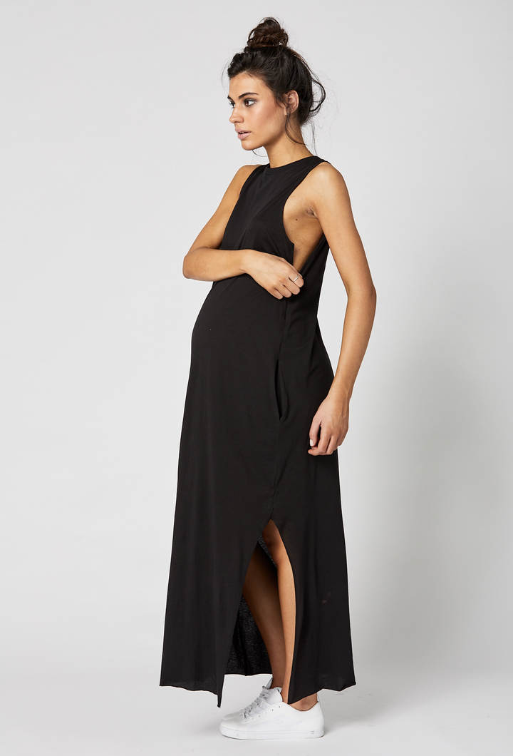 Park Avenue Maternity Maxi Dress Dubai Feeding Access
