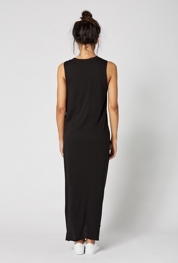 Park Avenue Maternity Maxi Dress Back