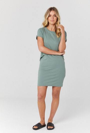 Vienna T Shirt Nursing Dress