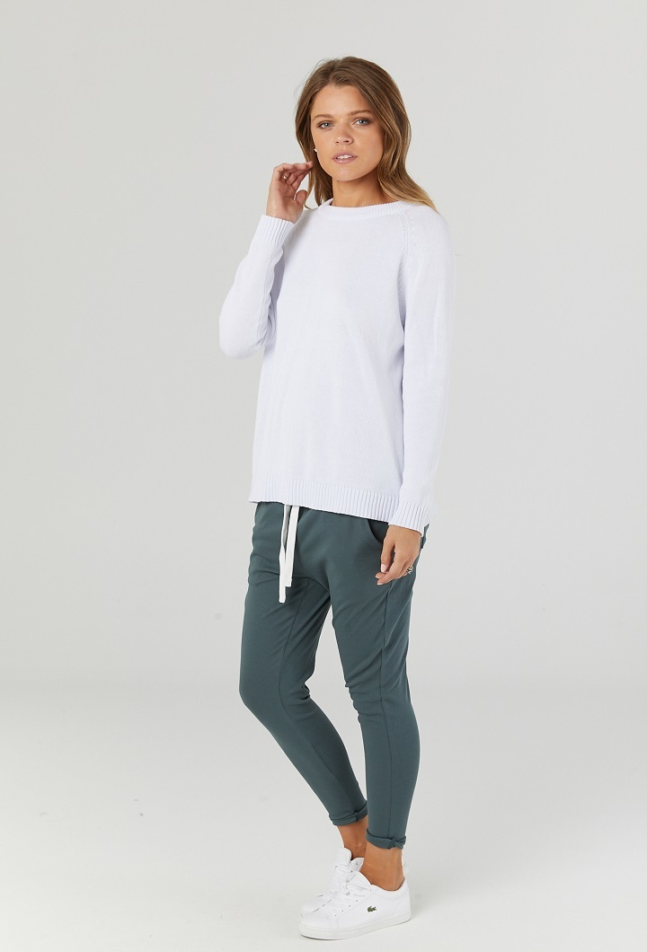 Milano Joggers in Forest Green Post Partum Wear 2