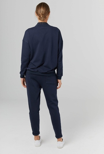 French Zip Sweater