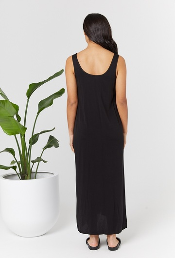 Ryder Black Nursing Dress