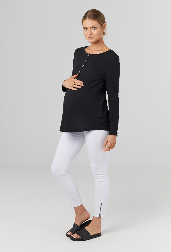 Millicent Maternity Long Sleeve Top
