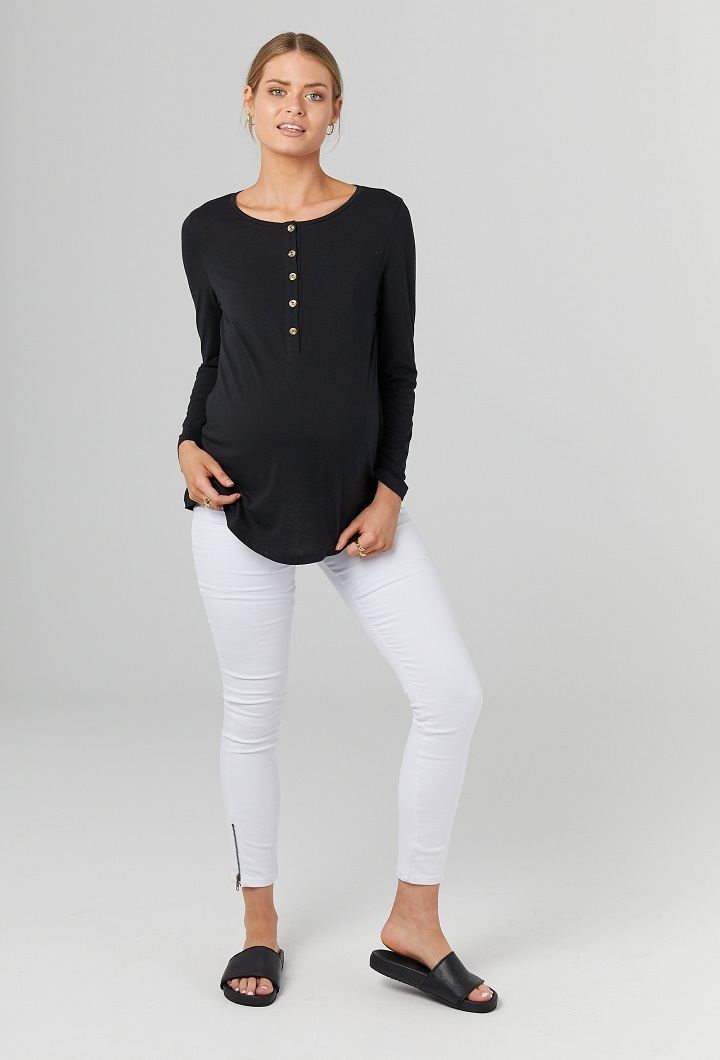 Millicent Maternity Long Sleeve Top 2