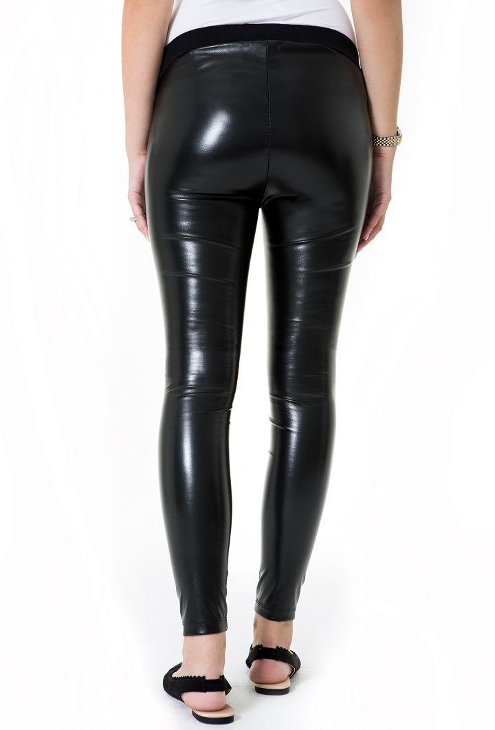 Shiny Maternity Tights (Low Rise)